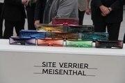 Meisenthal: Des briques en verre comme première pierre