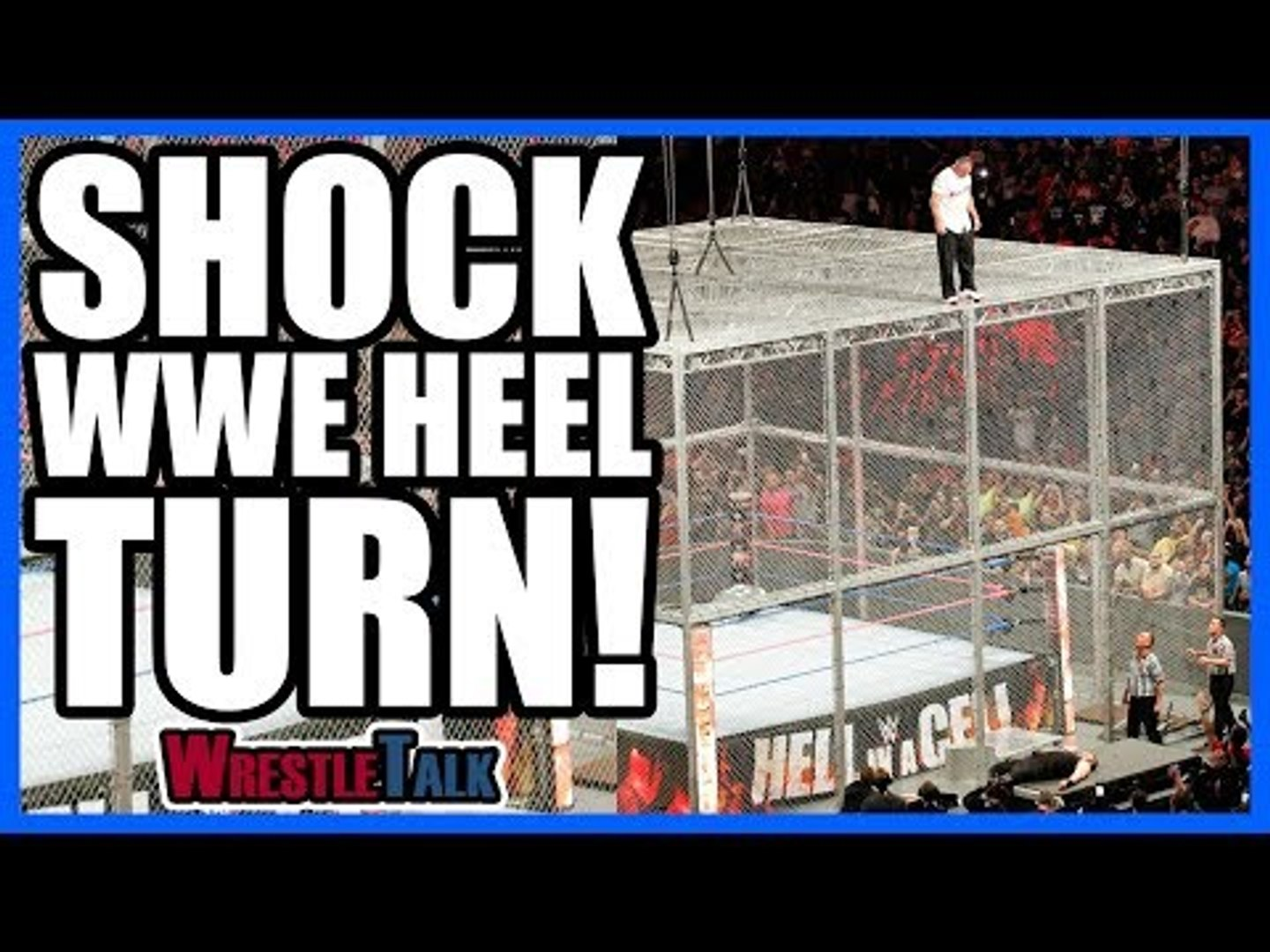 SHOCK Smackdown HEEL TURN!   WWE Hell In A Cell 2017 Review