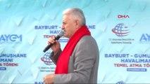 Gümüşhane -Başbakan Yıldırım Gümüşhane -Bayburt Havalimanı Temel Atma Töreninde Konuştu -2