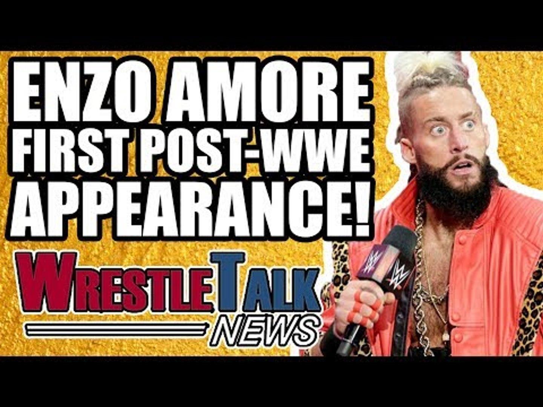 Impact Wrestling Vs UK! Enzo Amore First Post WWE Appearance REVEALED!   WrestleTalk News May 2018