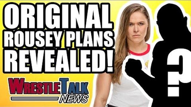 Original Ronda Rousey WWE WrestleMania 34 Plans REVEALED! | WrestleTalk News Apr. 2018