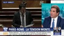 """Aquarius: """"Les propos de Macron envers le gouvernement italien sont irresponsables"""""""