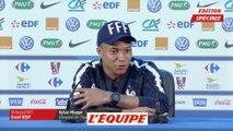 Mbappé s'amuse des critiques sur Cristiano Ronaldo - Foot - CM 2018 - Bleus