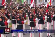 Compañía Juan Fanning: unidad histórica de la Marina de Guerra rinde homenaje a la Bicolor