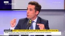 """Réforme de la SNCF : """"la CGT n'aura rien à présenter lors des élections professionnelles"""""""