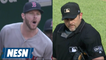 Chris Sale on being ejected by ump after being out of game vs. O's