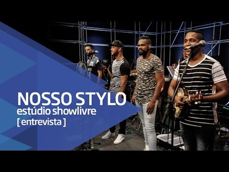 Pagode mineiro e perguntas dos fãs - Nosso Stylo no Estúdio Showlivre 2016