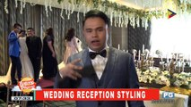 ON THE SPOT: Wedding reception styling; Wedding gown trends; Photo and video coverage weddings