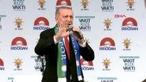 Rize- Cumhurbaşkanı Erdoğan Rize Mitinginde Konuştu-2