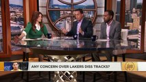 Did Lonzo Ball cross a line talking about Kyle Kuzma's dad in diss track? | The Jump | ESPN