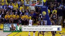 Stephen A. and Max agree: Kyrie Irving should not want to play with LeBron James   First Take   ESPN