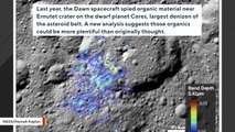 There May Be More Organic Material On Dwarf Planet Ceres Than Previously Estimated