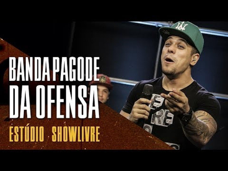 Improvisos, televisão e crescimento na web - Banda Pagode da Ofensa no Estúdio Showlivre 2017