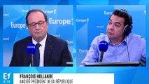 """François Hollande sur l'affaire Aquarius : """"Les pays européens ont montré incohérence et division, La France a été dans le lot"""""""