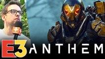 E3 2018 : On a joué à Anthem, c'est très très beau mais c'est à peu près tout