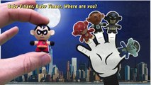 Finger Family Song DC Comics Toys Batman Flash Nursery Rhymes Youtube Video For Kids Daddy Finger
