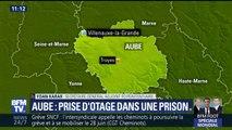 Prise d'otage dans une prison de l'Aube: un détenu retient une surveillante dans une cellule