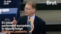 Le coup de gueule de Philippe Lamberts contre les dirigeants européens