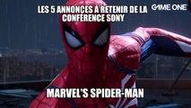 E3 2018 - Sélection PlayStation