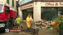 Intempéries : les habitants de Salies-de-Béarn sont sous le choc