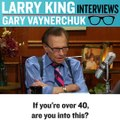 And this is why Larry King is a legend .. My parents think this is best interview I've given
