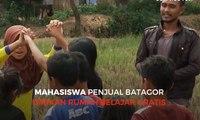 Mahasiswa Penjual Batagor Dirikan Rumah Belajar Gratis