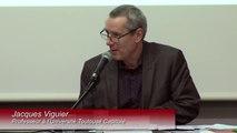 """""""Dialogue pagnolesque sur la laïcité au XXIème siècle"""", Jacques VIGUIER, Professeur des universités, UT1 Capitole, Institut du Droit de l'Espace, des Territoires, de la Culture et de la Com° (IDETCOM)_IMH-IDETCOM-IFR_La territorialité de la laïcité_04-03"""