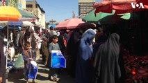 ازدحام مردم در جاده مندوی کابل در آستانۀ عید