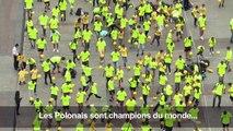 Foot: la Pologne championne du monde...de jongles avec un ballon