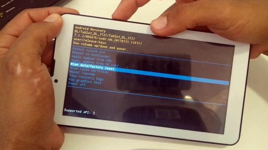 Como formatar Tablet DL 3721 | Hardreset Tablet DL 3721 | Tutorial