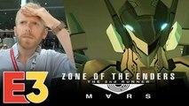 E3 2018 : On a joué à Zone of the Enders 2 sur PS VR, nos impressions depuis le cockpit