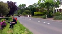 "Side car TT MAN ACDC ""thunderStruck"""