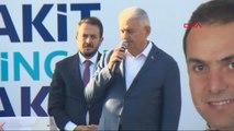 Erzincan Başbakan Binali Yıldırım Bayram Namazı Sonrası Açıklama Yaptı