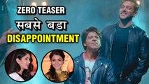 Zero Eid Teaser | Katrina Kaif And Anushka Sharma Missing, Shah Rukh Khan & Salman Steal Limelight