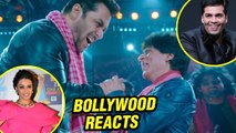 Zero Eid Teaser | Bollywood Celebs REACT | Shah Rukh Khan Salman Khan Back Together