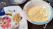 besan ka halwa banane ka tarika by Kitchen with Rubina