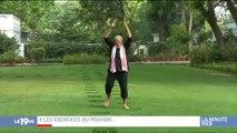 Le Premier Ministre Indien fait le buzz sur les réseaux sociaux en donnant des cours... de yoga ! Regardez