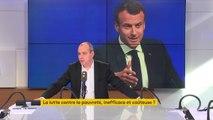 """Phrase polémique d'Emmanuel Macron sur le """"pognon de dingue"""" : Il faut arrêter de culpabiliser les pauvres. Je ne connais pas une personne qui se satisfait d'être dans une situation de pauvreté"""", réagit Laurent Berger #8h30politique"""