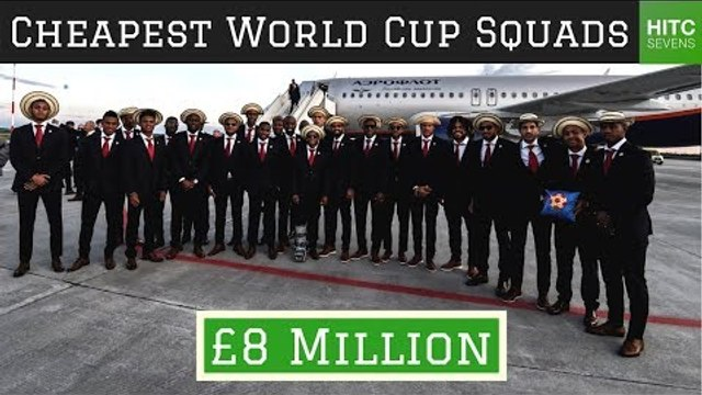 7 Least Valuable Squads at the World Cup