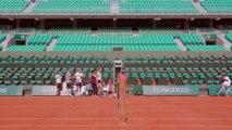 Microtrottoir Nouveau Roland-Garros