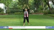 Le Premier Ministre Indien fait le buzz sur les réseaux sociaux en donnant des cours... de yoga !