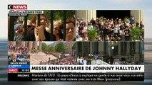 EN DIRECT - Vivez minute par minute l'hommage des fans à Johnny le jour de son anniversaire à la Madeleine - les fans émus et déchaînés lors de l'hommage à la Madeleine