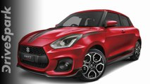 Suzuki Swift Sport Red Devil Edition Quick Look — DriveSpark