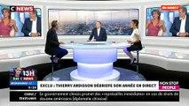 """Thierry Ardisson s'adresse en direct dans """"Morandini Live"""" à Anne Nivat, """"grand reporter de guerre"""", et à Jean-Jacques Bourdin"""