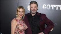 John Travolta And Kelly Preston Talk 'Gotti'