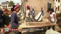 Intempéries : la solidarité s'organise à Salies-de-Béarn