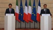 Conférence de presse du Président de la République et du Président du Conseil des ministres de la République italienne