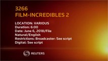 A New Record, Pixar's 'The Incredibles 2' Soars To $18.5 Million