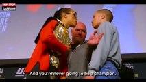 Une combattante MMA trop sûre d'elle se fait calmer sur le ring (Vidéo)