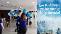 Estonia is celebrating its 100th of birthday this year. We welcome our birthday guests with brand new gates - in airport, port, border points, bus and train sta